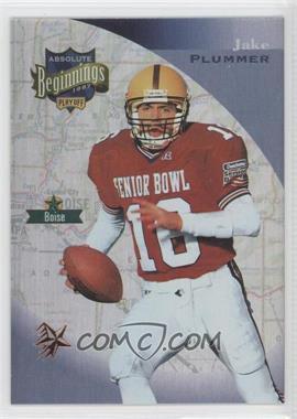 1997 Absolute Beginnings Bronze Redemption #142 - Jake Plummer