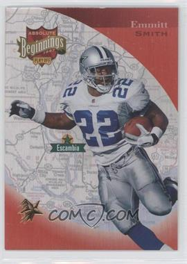 1997 Absolute Beginnings Gold Redemption #152 - Emmitt Smith