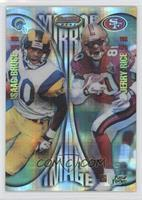 Isaac Bruce, Jerry Rice, Marvin Harrison, Tony Martin