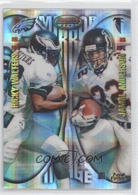 1997 Bowman's Best [???] #16 - Ricky Watters, Jamal Anderson
