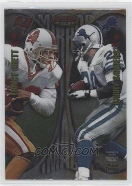 1997 Bowman's Best [???] #MI5 - Errict Rhett, Barry Sanders, Thurman Thomas, Curtis Martin