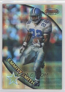 1997 Bowman's Best Atomic Refractor #30 - Emmitt Smith