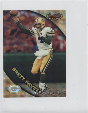 1997 Bowman's Best Jumbo Atomic Refractor #1 - Brett Favre