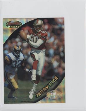 1997 Bowman's Best Jumbo Atomic Refractor #10 - Jerry Rice