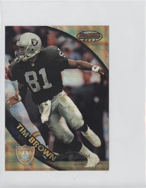 1997 Bowman's Best Jumbo Atomic Refractor #5 - Tim Brown