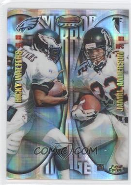 1997 Bowman's Best Mirror Image Atomic Refractor #MI6 - Ricky Watters, Jamal Anderson