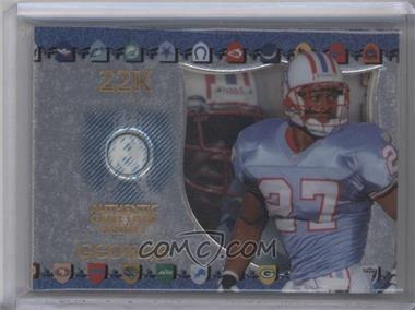 1997 Collector's Edge Excalibur Game Gear #9 - Eddie George