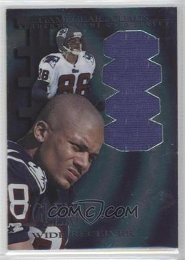1997 Collector's Edge Extreme Game Gear Quads Game-Used #13 - Terry Glenn (Jersey)