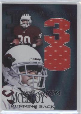 1997 Collector's Edge Extreme Game Gear Quads Game-Used #14 - Leeland McElroy
