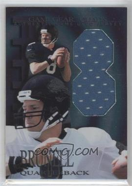 1997 Collector's Edge Extreme Game Gear Quads Game-Used #5 - Mark Brunell