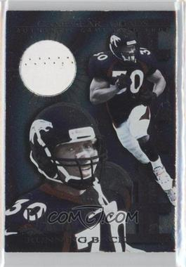 1997 Collector's Edge Extreme Game Gear Quads Game-Used #7 - Terrell Davis