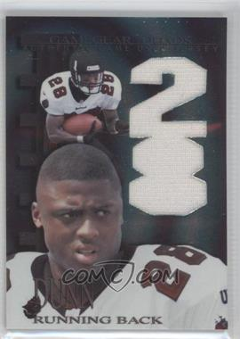 1997 Collector's Edge Extreme Game Gear Quads Game-Used #9 - Warrick Dunn