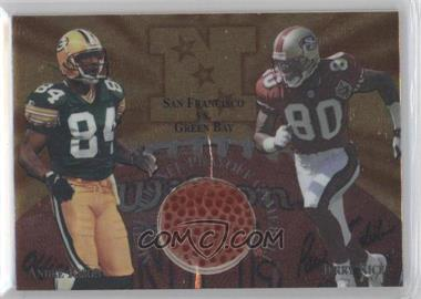 1997 Collector's Edge Masters - Gameball #15 - Andre Rison, Jerry Rice
