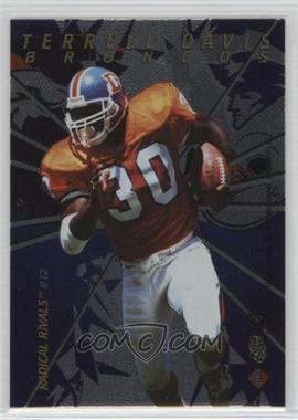 1997 Collector's Edge Masters - Radical Rivals #12 - Terrell Davis, Curtis Martin /1000