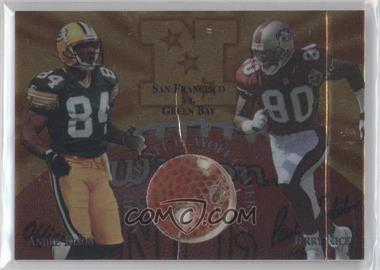 1997 Collector's Edge Masters [???] #15 - Andre Rison, Jerry Rice