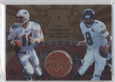 1997 Collector's Edge Masters [???] #4 - Drew Bledsoe, Mark Brunell