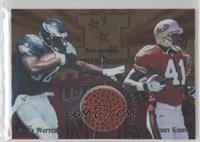 Ricky Watters, Terry Kirby