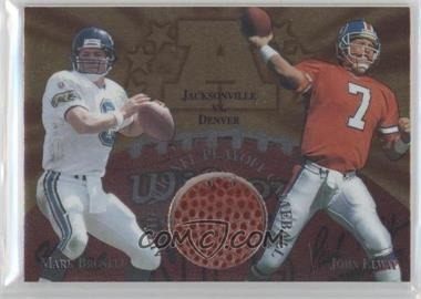 1997 Collector's Edge Masters Gameball #6 - John Elway, Mark Brunell
