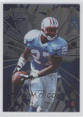 1997 Collector's Edge Masters Radical Rivals #1 - Eddie George, Emmitt Smith /1000
