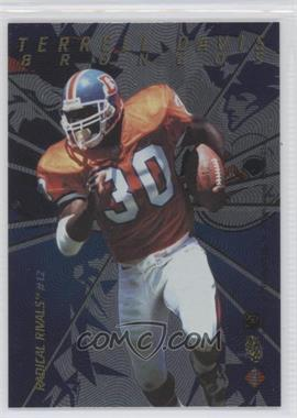 1997 Collector's Edge Masters Radical Rivals #12 - Terrell Davis, Curtis Martin /1000