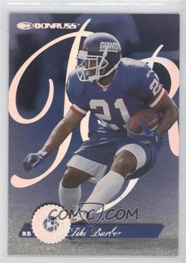 1997 Donruss Rated Rookie #7 - Tiki Barber