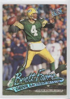 1997 Fleer Ultra Platinum Medallion Edition #P1 - Brett Favre