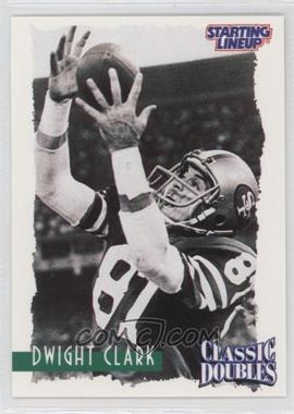 1997 Kenner Starting Lineup [???] #N/A - Dwight Clark
