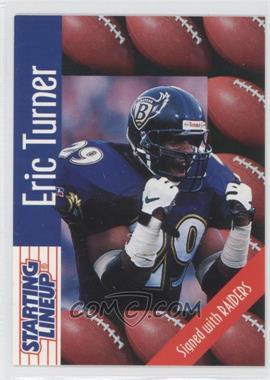 1997 Kenner Starting Lineup [???] #N/A - Eric Turner