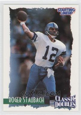 1997 Kenner Starting Lineup [???] #N/A - Roger Staubach