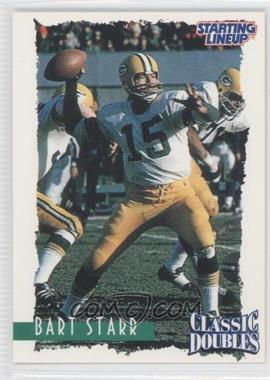 1997 Kenner Starting Lineup Classic Doubles - [Base] #16 - Bart Starr