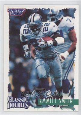 1997 Kenner Starting Lineup Classic Doubles - [Base] #22 - Emmitt Smith