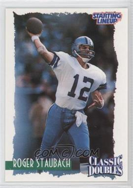 1997 Kenner Starting Lineup Classic Doubles #12 - Roger Staubach