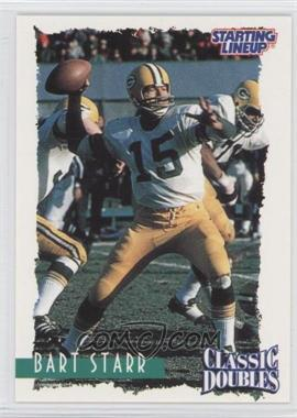 1997 Kenner Starting Lineup Classic Doubles #16 - Bart Starr
