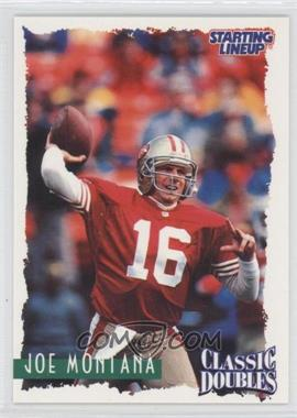 1997 Kenner Starting Lineup Classic Doubles #16 - Joe Montana