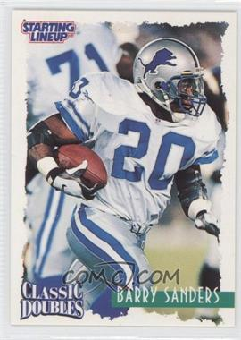 1997 Kenner Starting Lineup Classic Doubles #20 - Barry Sanders