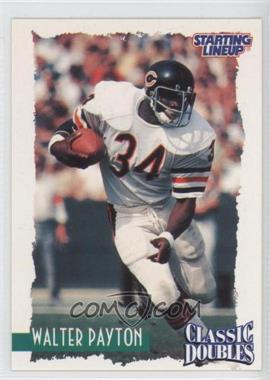 1997 Kenner Starting Lineup Classic Doubles #34 - Walter Payton