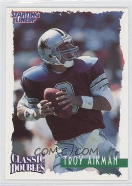 1997 Kenner Starting Lineup Classic Doubles #8 - Troy Aikman
