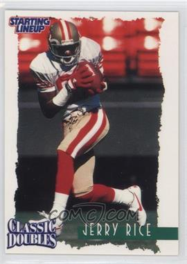 1997 Kenner Starting Lineup Classic Doubles #80 - Jerry Rice