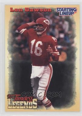 1997 Kenner Starting Lineup Timeless Legends #16 - Len Dawson