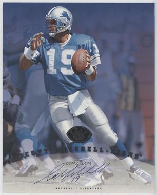 1997 Leaf Signature - Authentic Signature #SCMI - Scott Mitchell