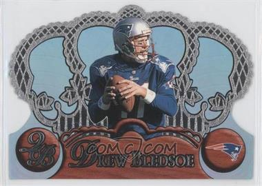 1997 Pacific Crown Royale Blue Holofoil #79 - Drew Bledsoe