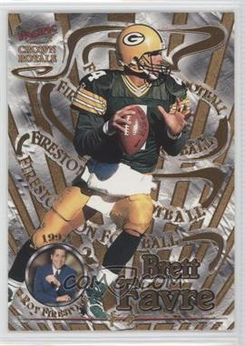 1997 Pacific Crown Royale Firestone on Football #8 - Brett Favre