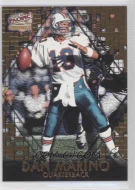 1997 Pacific Invincible - Pop-Cards #8 - Dan Marino