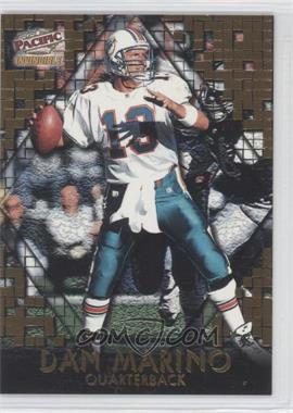 1997 Pacific Invincible [???] #8 - Dan Marino