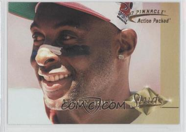 1997 Pinnacle Action Packed - Studs #4 - Jerry Rice /1500