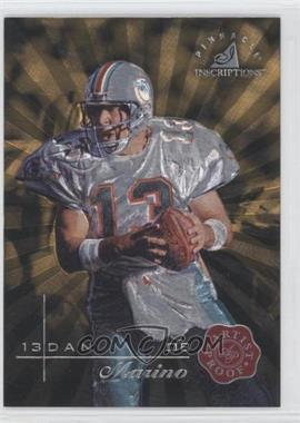 1997 Pinnacle Inscriptions - [Base] - Artist Proof #13 - Dan Marino