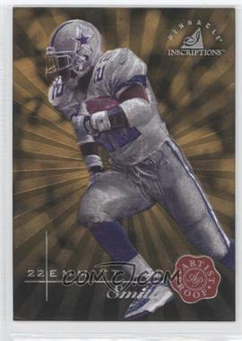 1997 Pinnacle Inscriptions Artist Proof #22 - Emmitt Smith