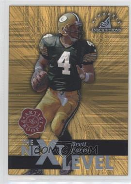 1997 Pinnacle Inscriptions Artist Proof #33 - Brett Favre