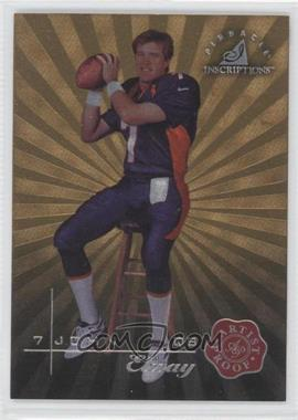 1997 Pinnacle Inscriptions Artist Proof #7 - John Elway