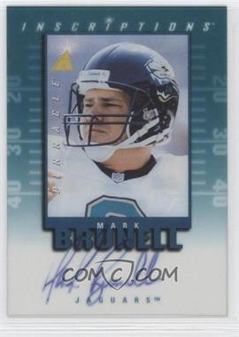1997 Pinnacle Inscriptions Signatures #425 - Mark Brunell /2000